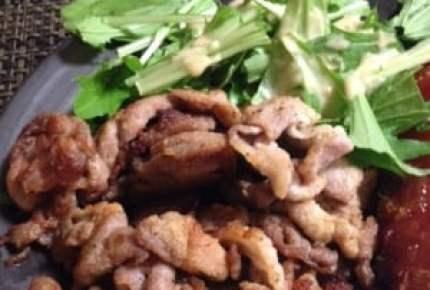 冷めても美味しい!節約材料の「豚こま切れ肉」でジューシーな「唐揚げ」ができた!