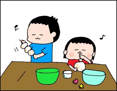 家にある材料2つでカンタン!手作り小麦粉ねんど遊びをしよう!