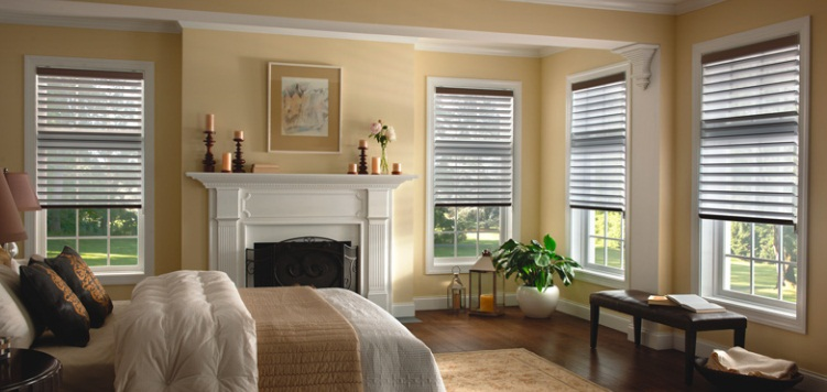 "Blinds.com Reviews 3"" Room Darkening Sheer Shades 