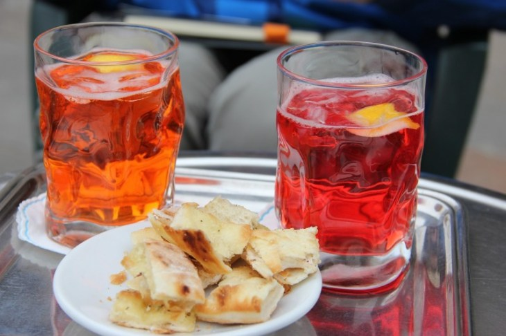 Spritz is refreshing cocktail and a must-try in Venice
