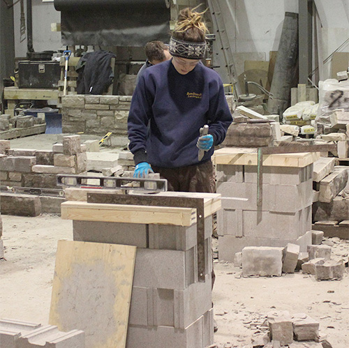 Stone Masonry Courses Learn to Build Stone Walls  Patios