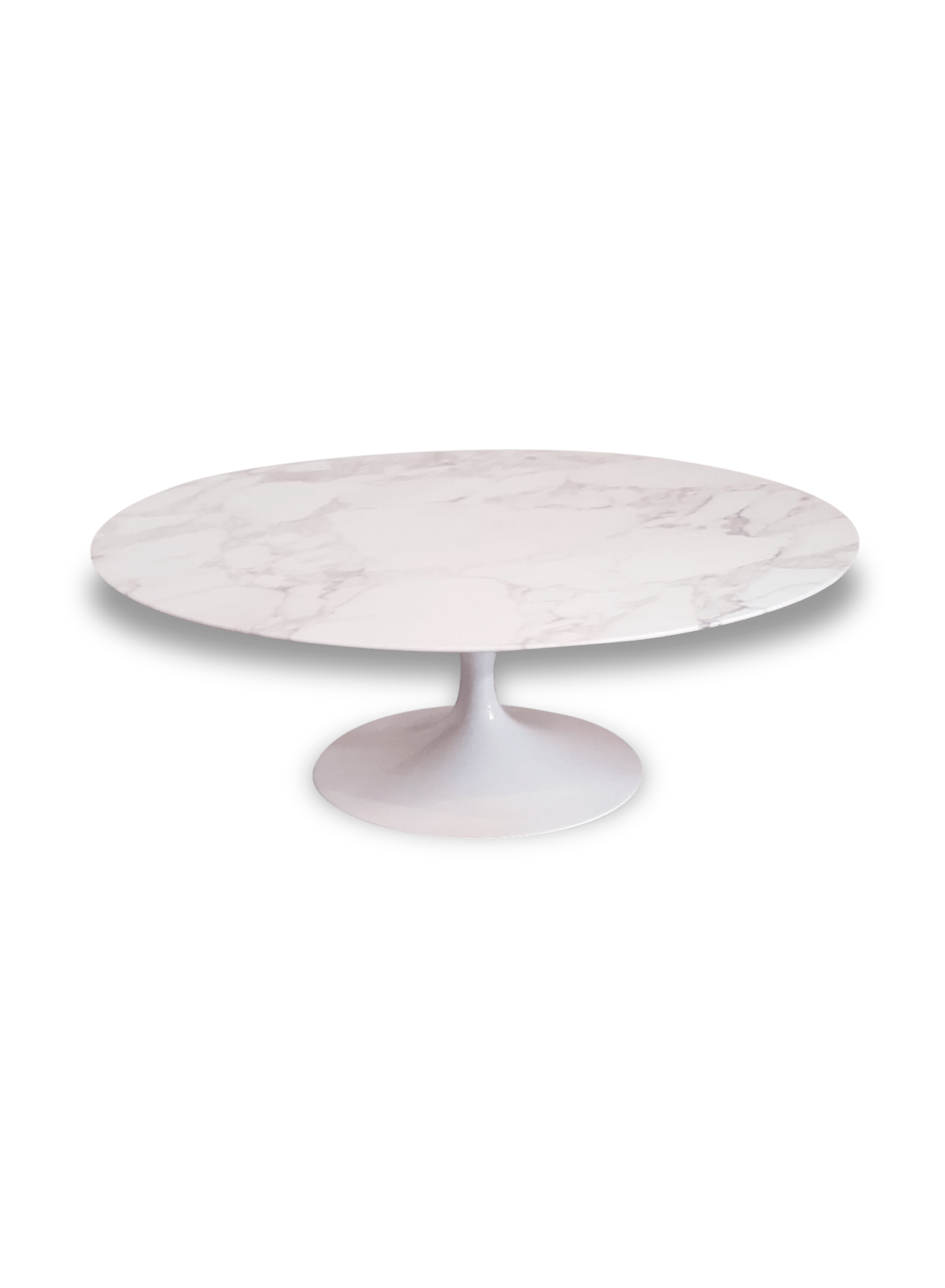 Ampm Table Marbre Table Knoll Ovale Marbre Blanc Table Ovale Marbre Table