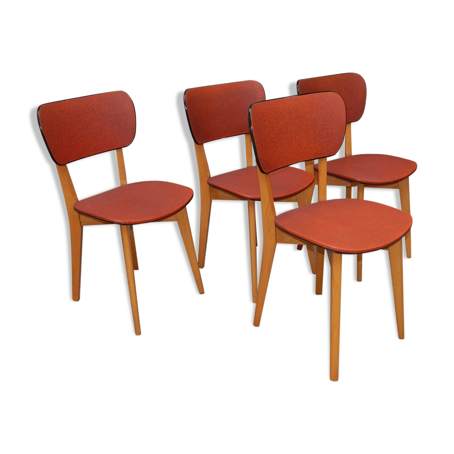 Chaises Rouges Chaises Rouges Design Simple Galettes Chaises Ikea