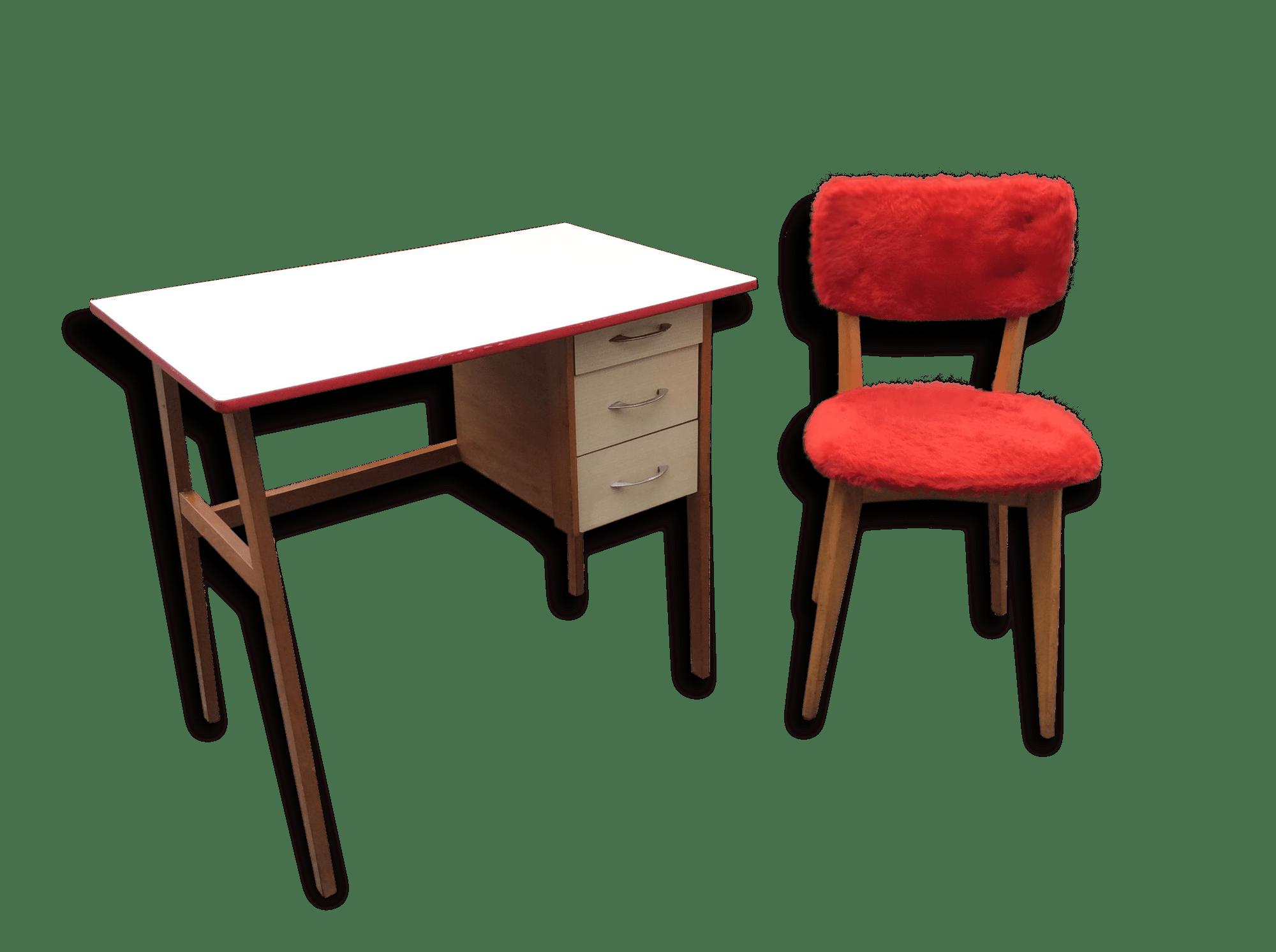 Chaise de bureau en bois pivotant chaise chaise bureau design