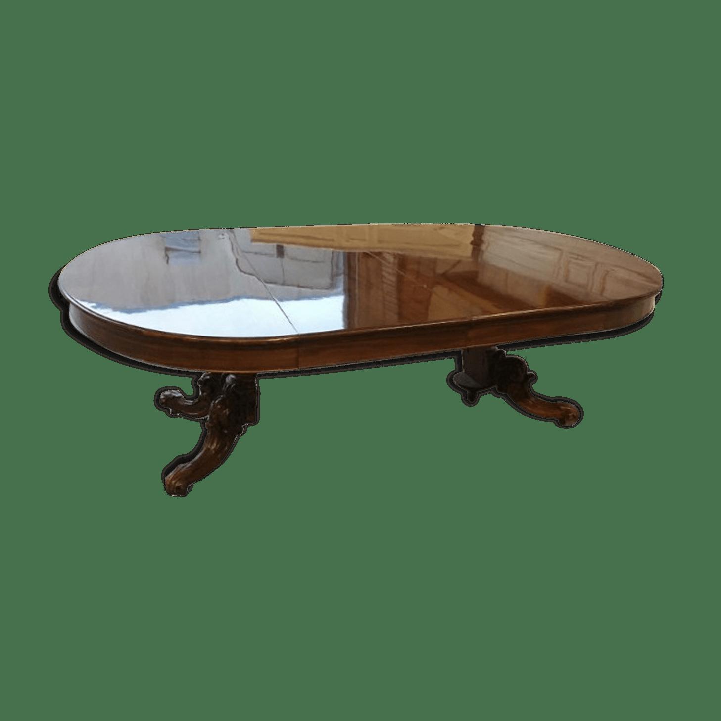 Table Ovale Extensible   Table Ovale Rallonge Beau Photographie ...
