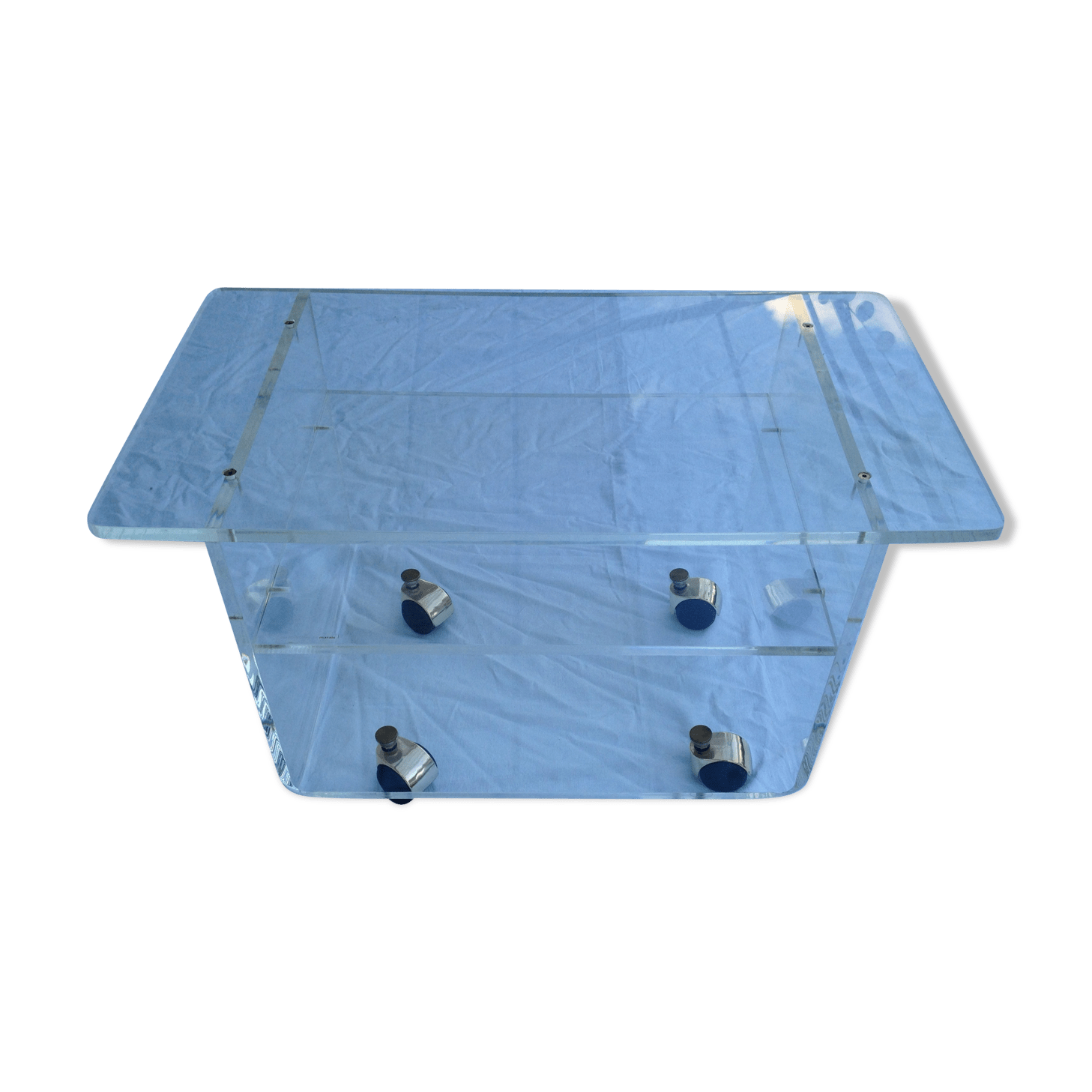 Table Plexiglas Transparent Table Basse Plexiglas De Marais With Table Basse Plexiglas