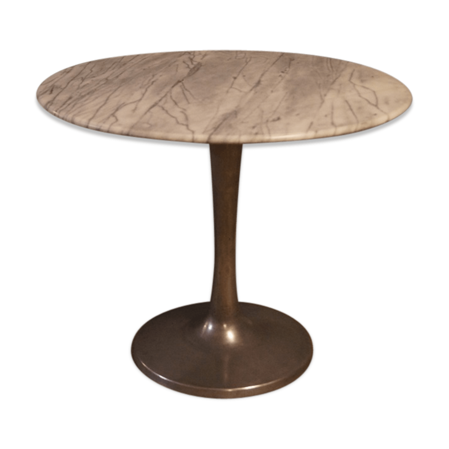 Table Ovale Tulipe Finest Elegant Table Pitement Tulipe En Marbre Design With