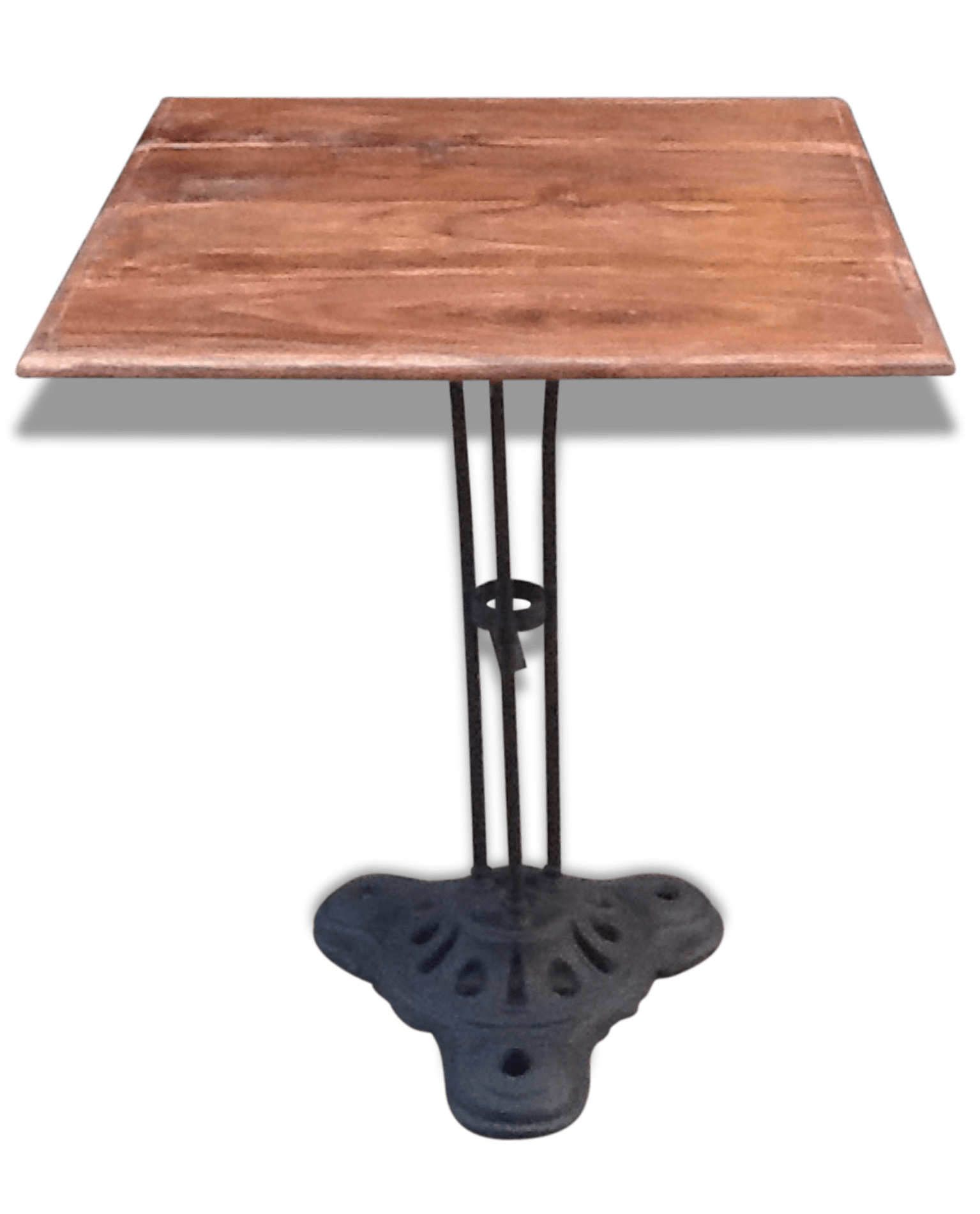 Table Bistrot Pied Fonte Pied De Table Bistrot Perfect Table Int Pied Fonte