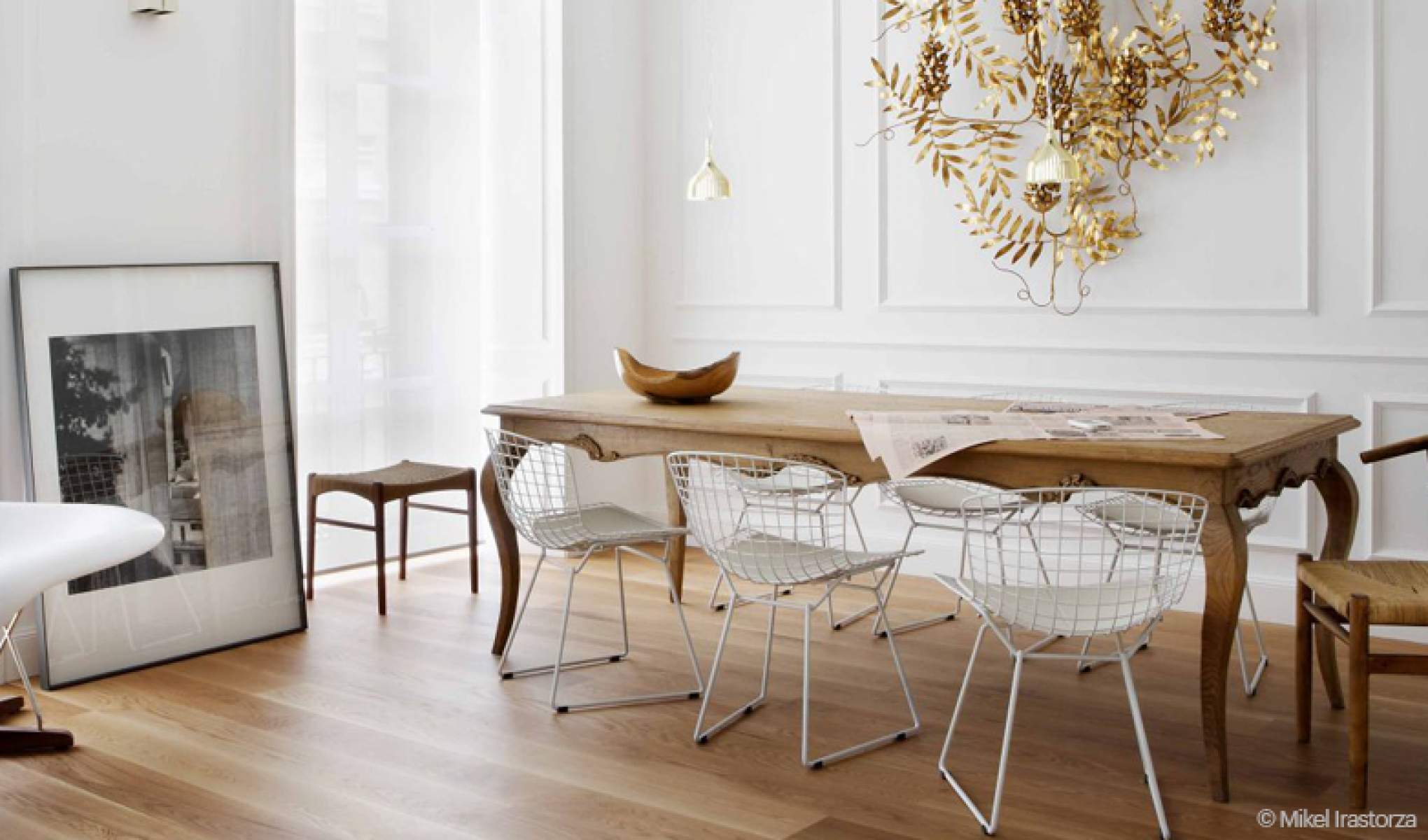 Salle A Manger Vintage Moderne Stunning Table Ancienne Et Chaises Modernes Photos