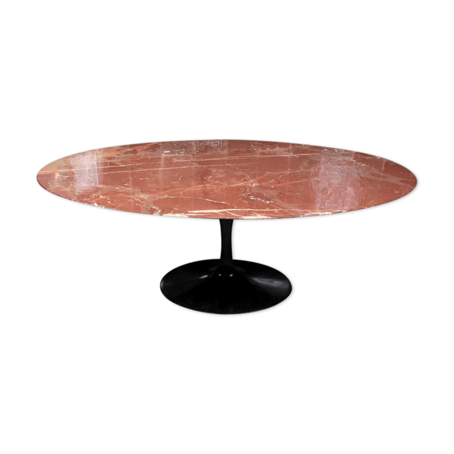 Table Ovale Design Stunning Table Tulipe Knoll Ovale En Marbre Dualicante