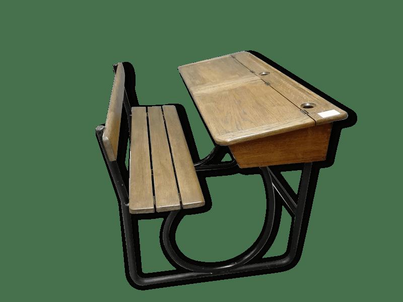 Pupitre ecolier ancien bureaux anciens occasion en bretagne