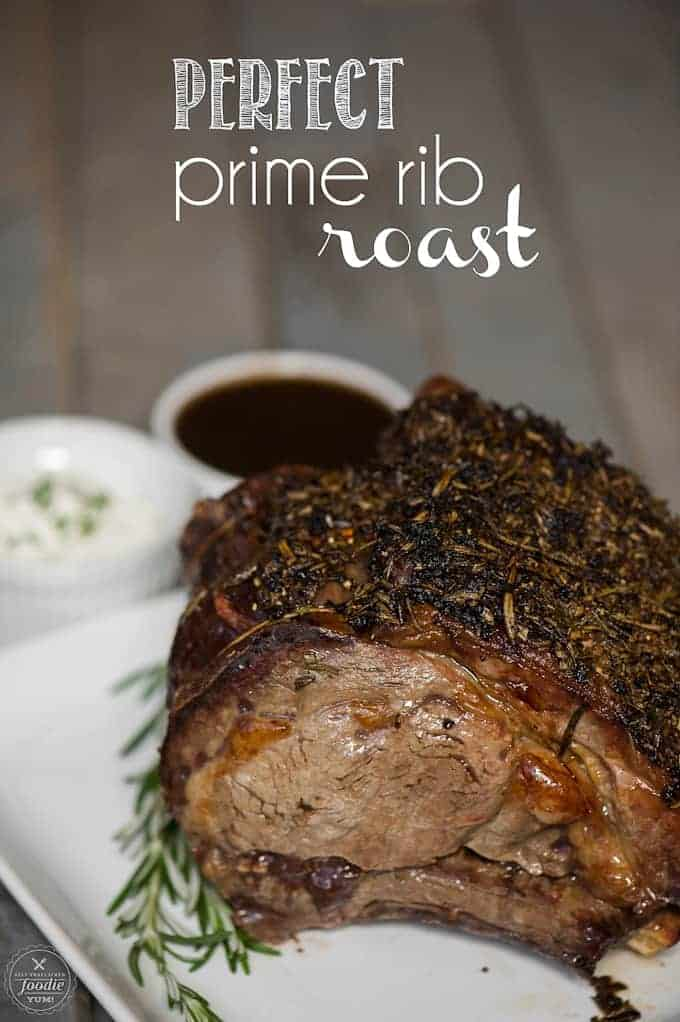 Perfect Prime Rib Roast Recipe  Cooking Tips Self Proclaimed Foodie