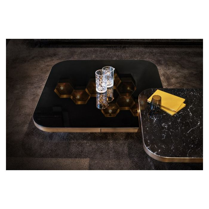 Couchtisch Schwarz Marmor Classicon Bow Coffee Table - Selig Wohndesign