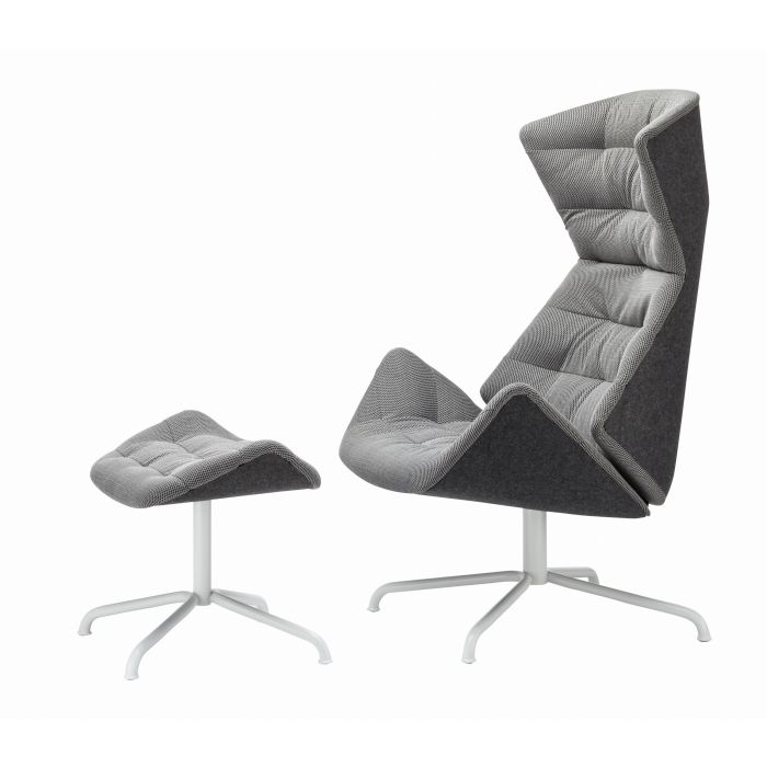 Air Lounge Sessel Thonet Lounge Sessel & Ottoman 808 - Selig Wohndesign