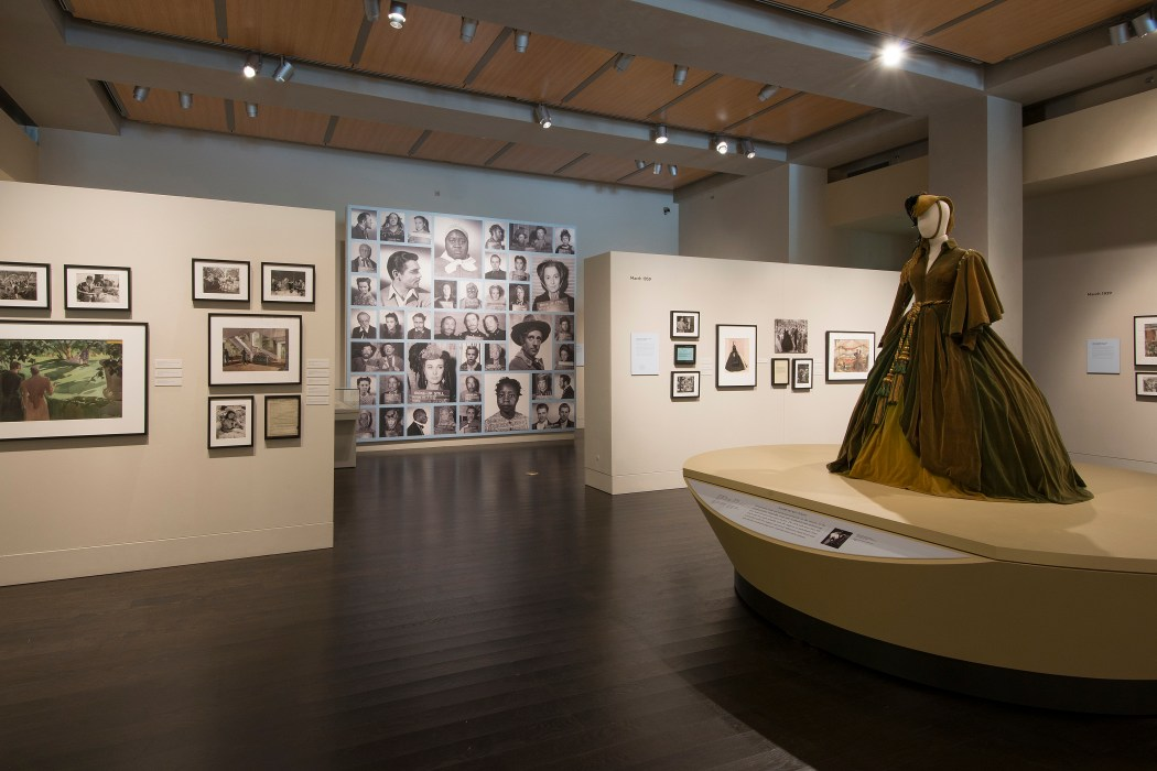 The exhibition The Making of Gone With The Wind. Photo by Pete Smith. Image courtesy of Harry Ransom Center.