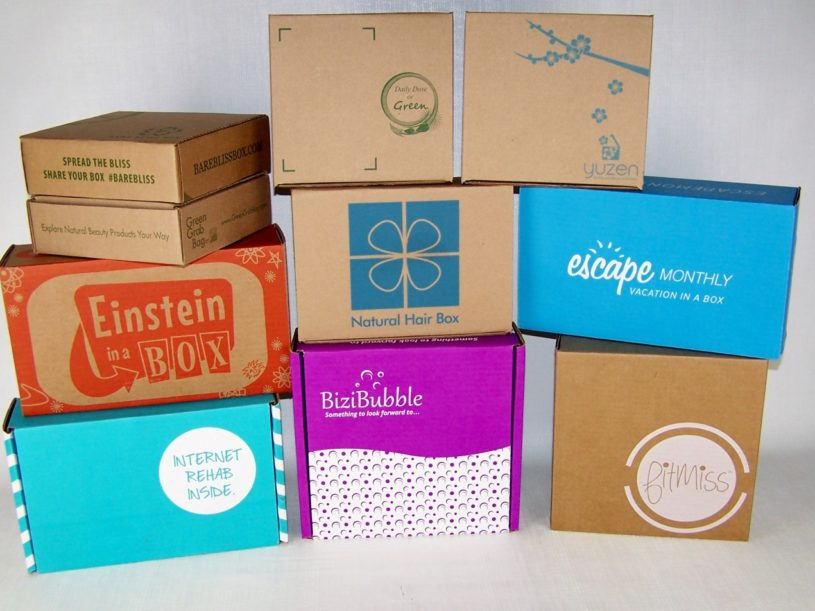 Subscription Box Packaging Stickers, Stamps, or Custom Printing?