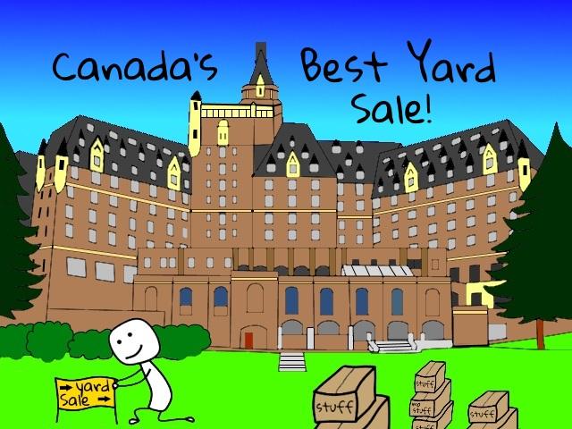 Delta Bessborough Garage Sale with sellallyourstuff.com