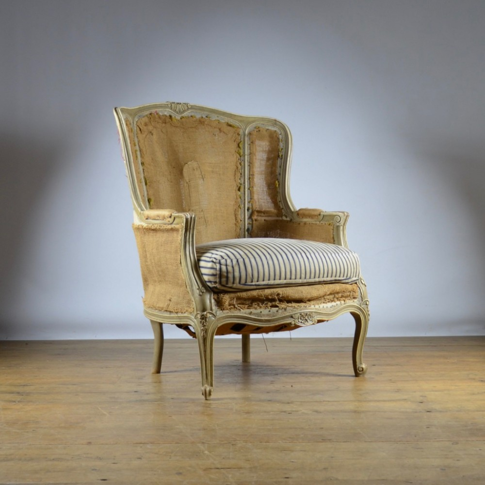 Furniture Reupholstery Near Me Uk Painted French Wing Chair Reupholstery Included 481442