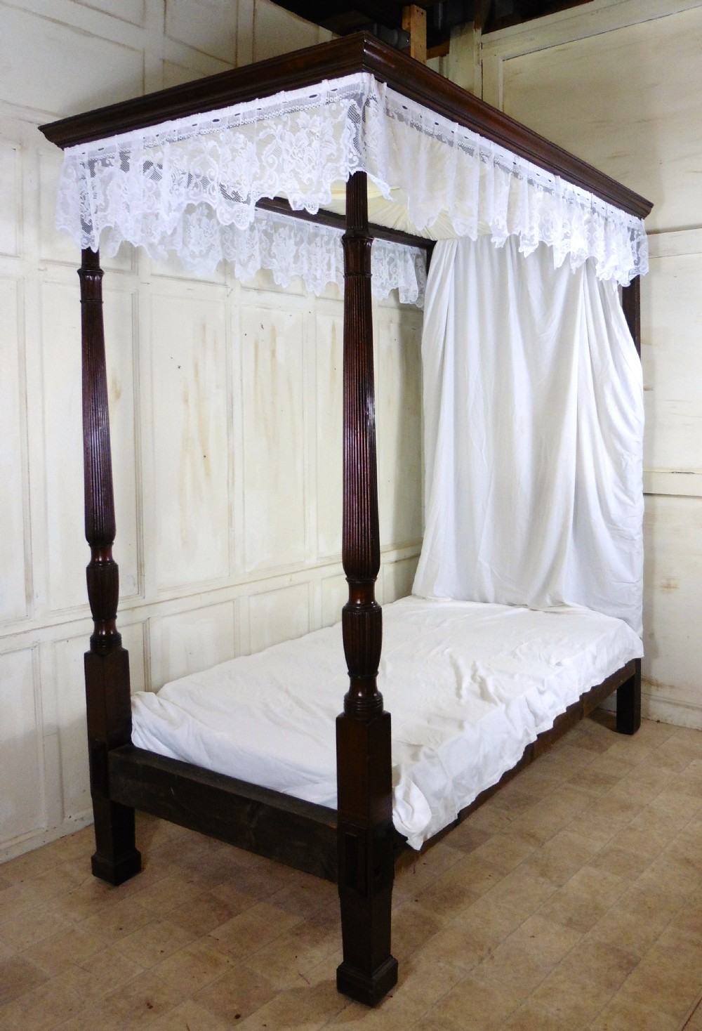 Single Four Poster Bed Charming Victorian Single Mahogany Four Poster Bed 304755