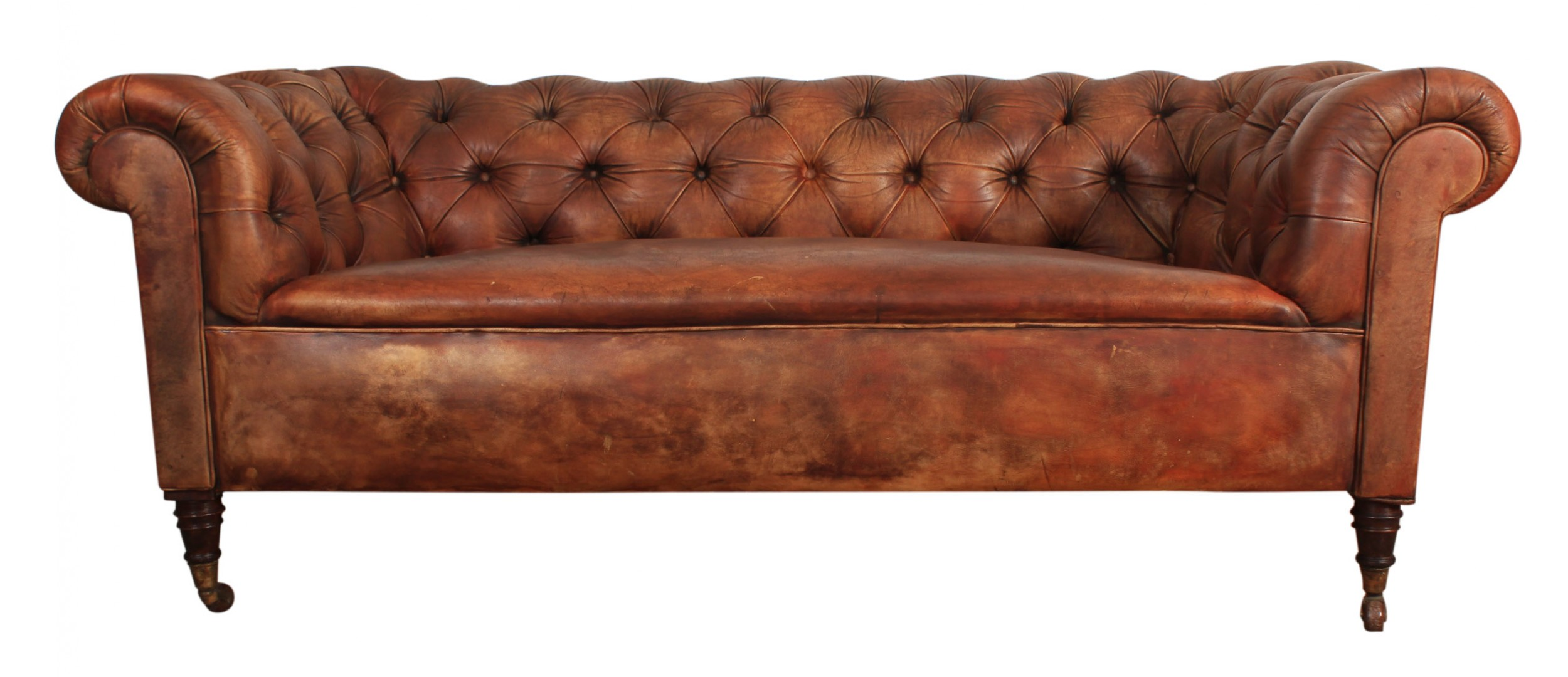 Chesterfield Sofa Online Uk Genuine Victorian Antique Leather Chesterfield Sofa 603733