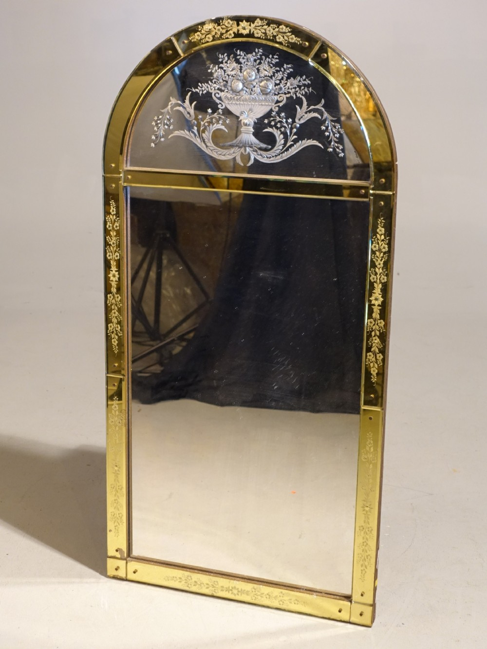 An Exceptional Early 20th Century English Mirror In The Venetian Taste 739153 Sellingantiques Co Uk