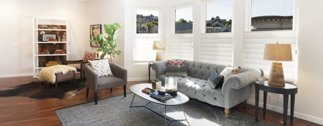 This is a light-filled and roomy top-floor condo featuring views of downtown, the Bay Bridge, and San Francisco hills. Its open floor plan includes two large bedrooms, two bathrooms, an […]