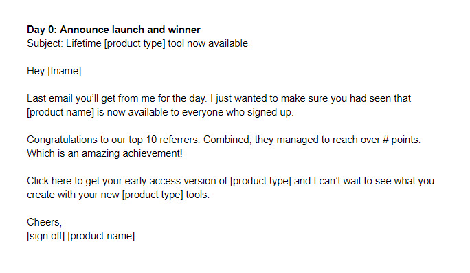 8 product launch email templates \u2013 Sell your service
