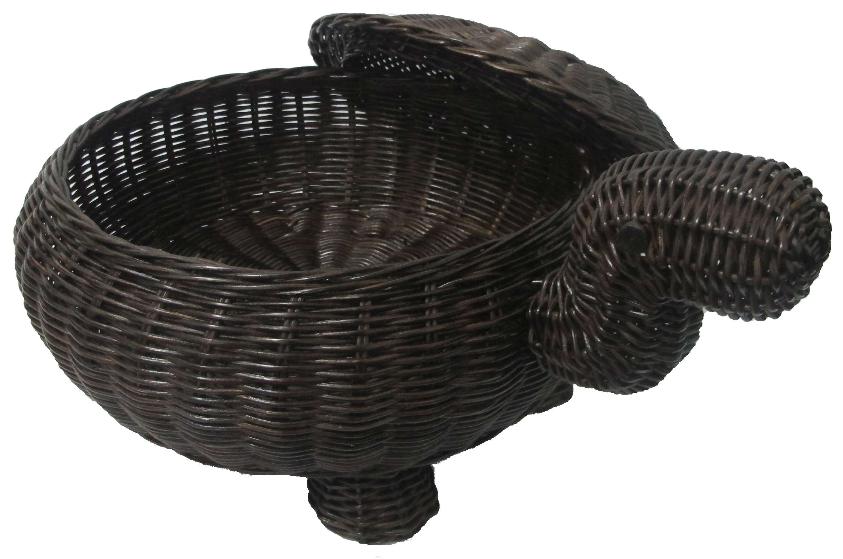 Animal Wicker Hamper Rattan Wicker Animal And Pet Baskets Dog Baskets