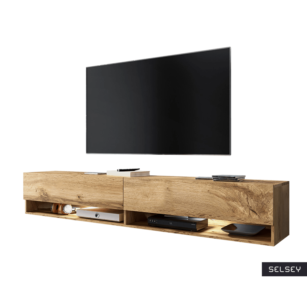 Photo Meuble Tv Wander Meuble Tv Suspendu 180 Cm