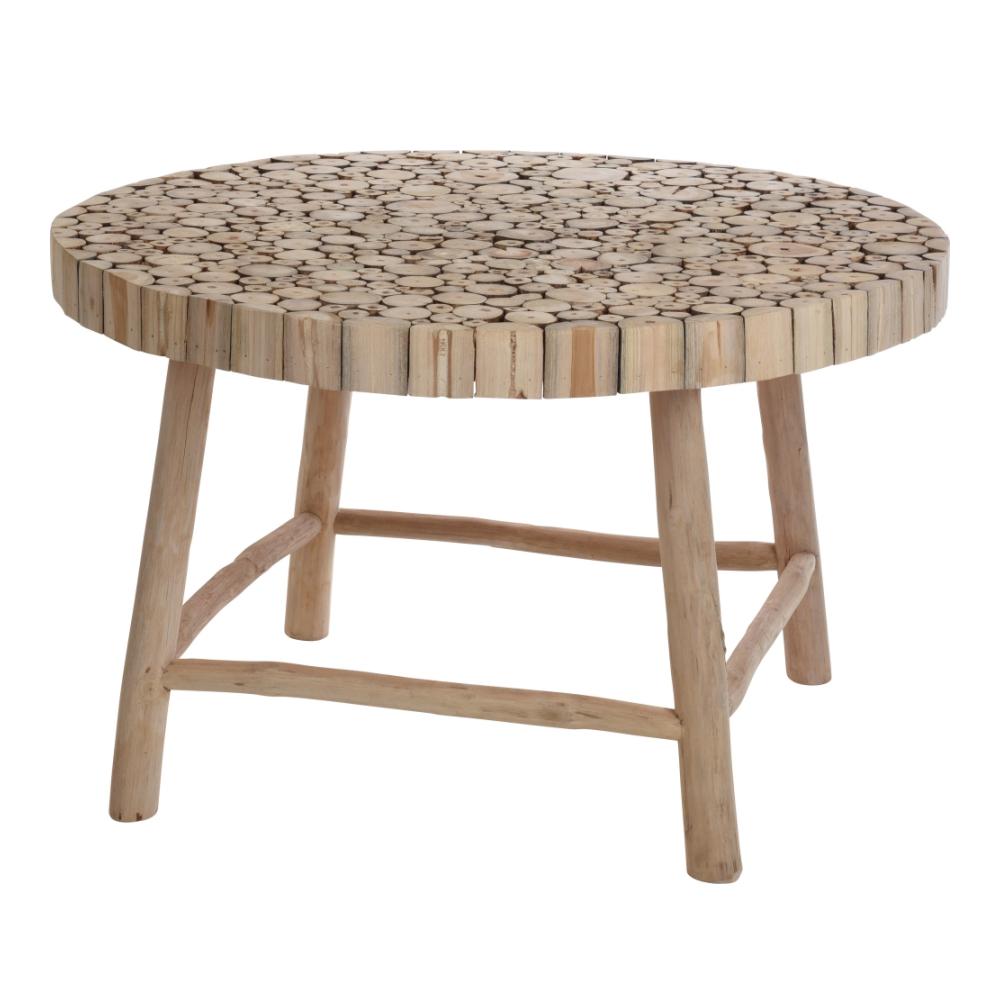 Table Basse Jardin Teck