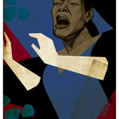 Billie Holiday Illustration