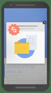 przykład niekorzystnego dla użytkownika pop up'u