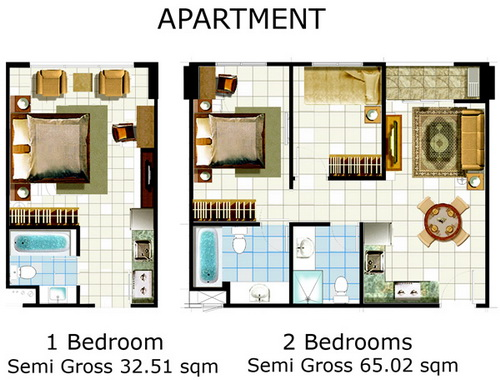 bedroom star prima apartment