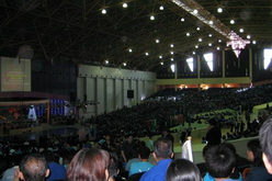 suasana di holy stadium semarang