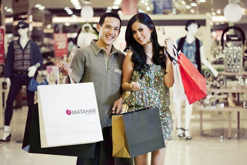 Foto Model Matahari Dept Store