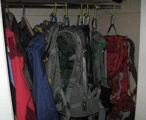 backpack rack