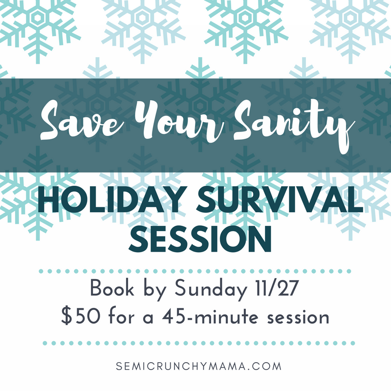 45 minute session for just $50 through Sunday 11/27