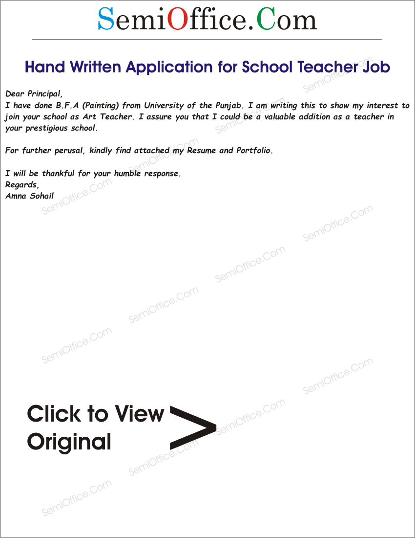 Membership Secretary Caff Uk See Web Site Application For School Teacher Job Free Samples