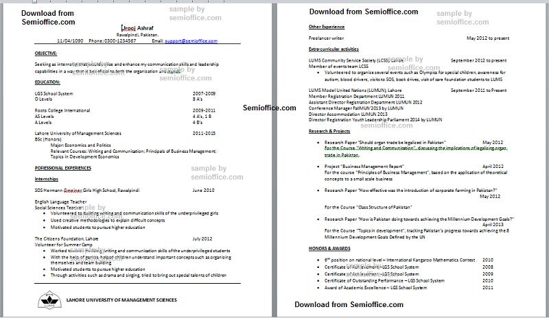 Financial Analyst Job Resume Sample Fastweb Resume Of Economics Major Free Download