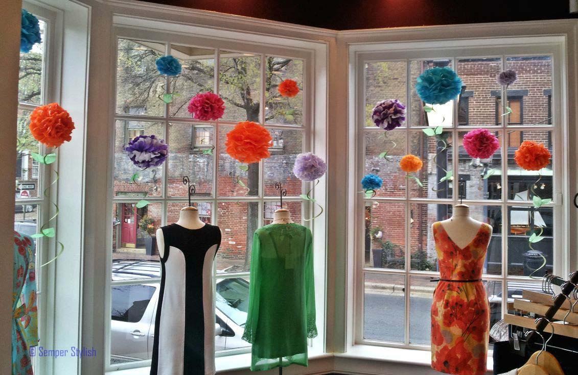 Zoe Boutique Spring window