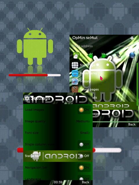 skin OPERA MINI 7.0 android 2
