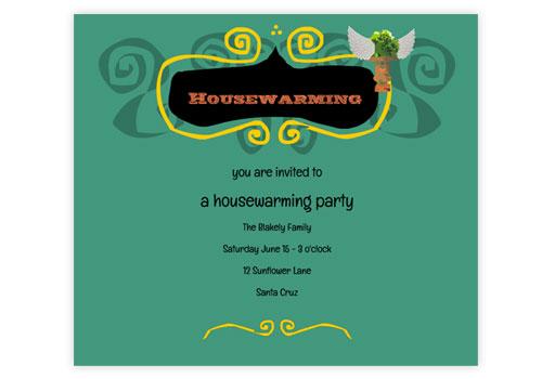 housewarming bbq invitation