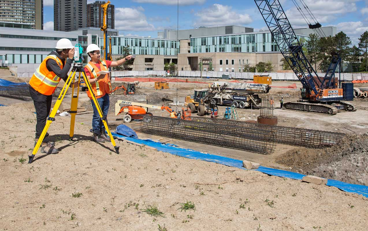 A Construction Engineering Civil Engineering Technology Seneca Toronto Canada