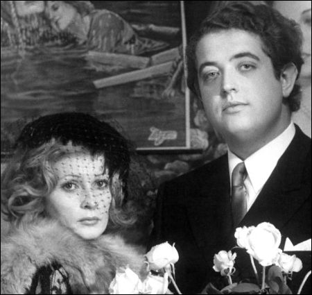Peter Kern mit Ingrid Caven in Daniel Schmids 'La Paloma' von 1974