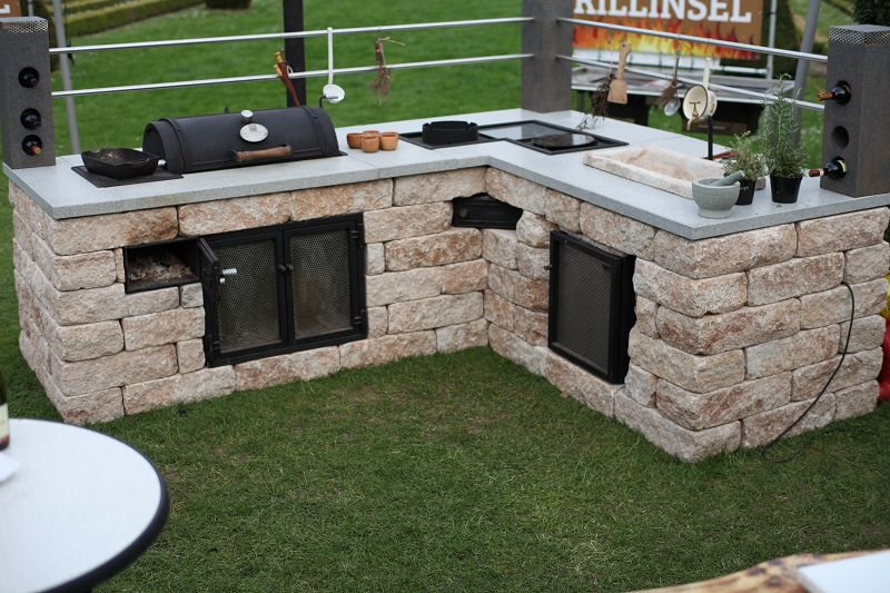Die Outdoorküche Sens Outdoor Grills