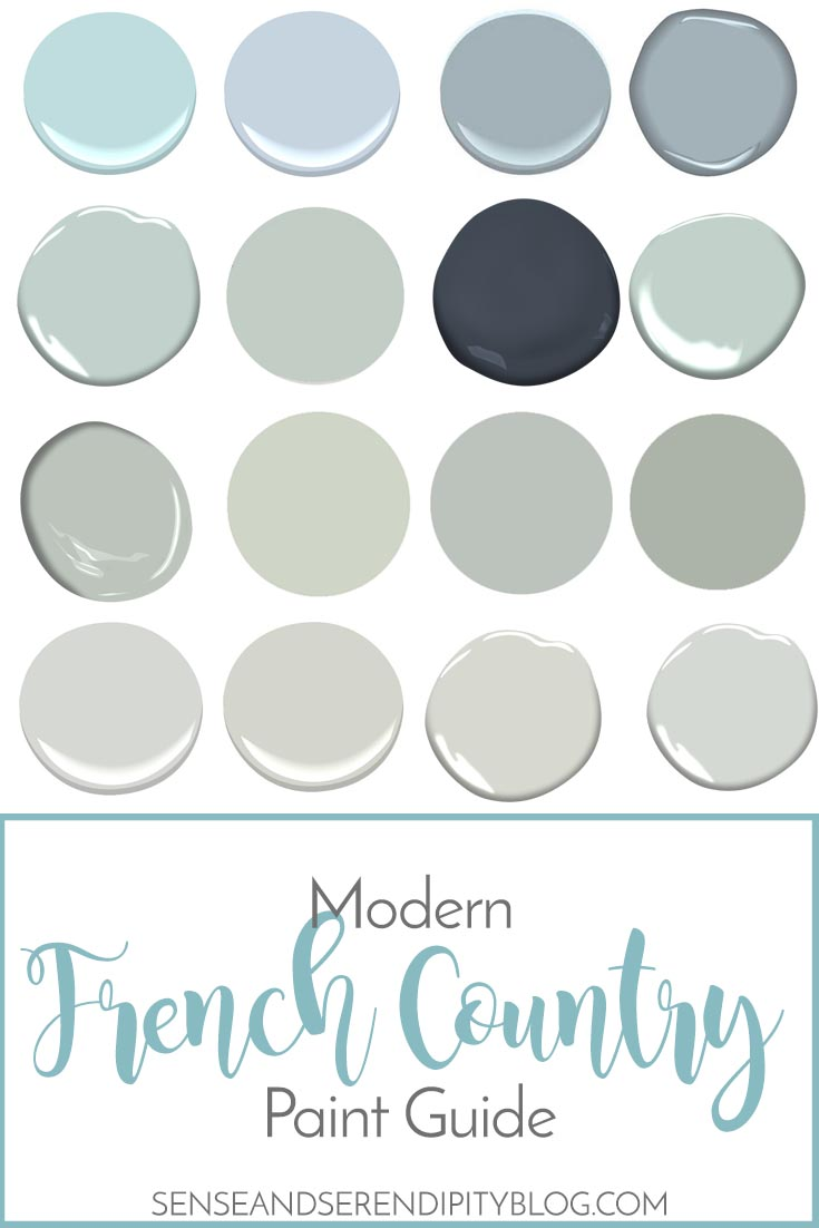 Modern French Farmhouse Exterior Modern French Country Paint Guide Sense Serendipity