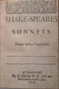 1609Sonnet-TitlePage