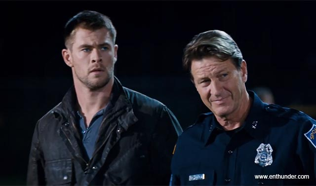 Tom and Jed as Matt's Dual Daddies in Red Dawn (2012)