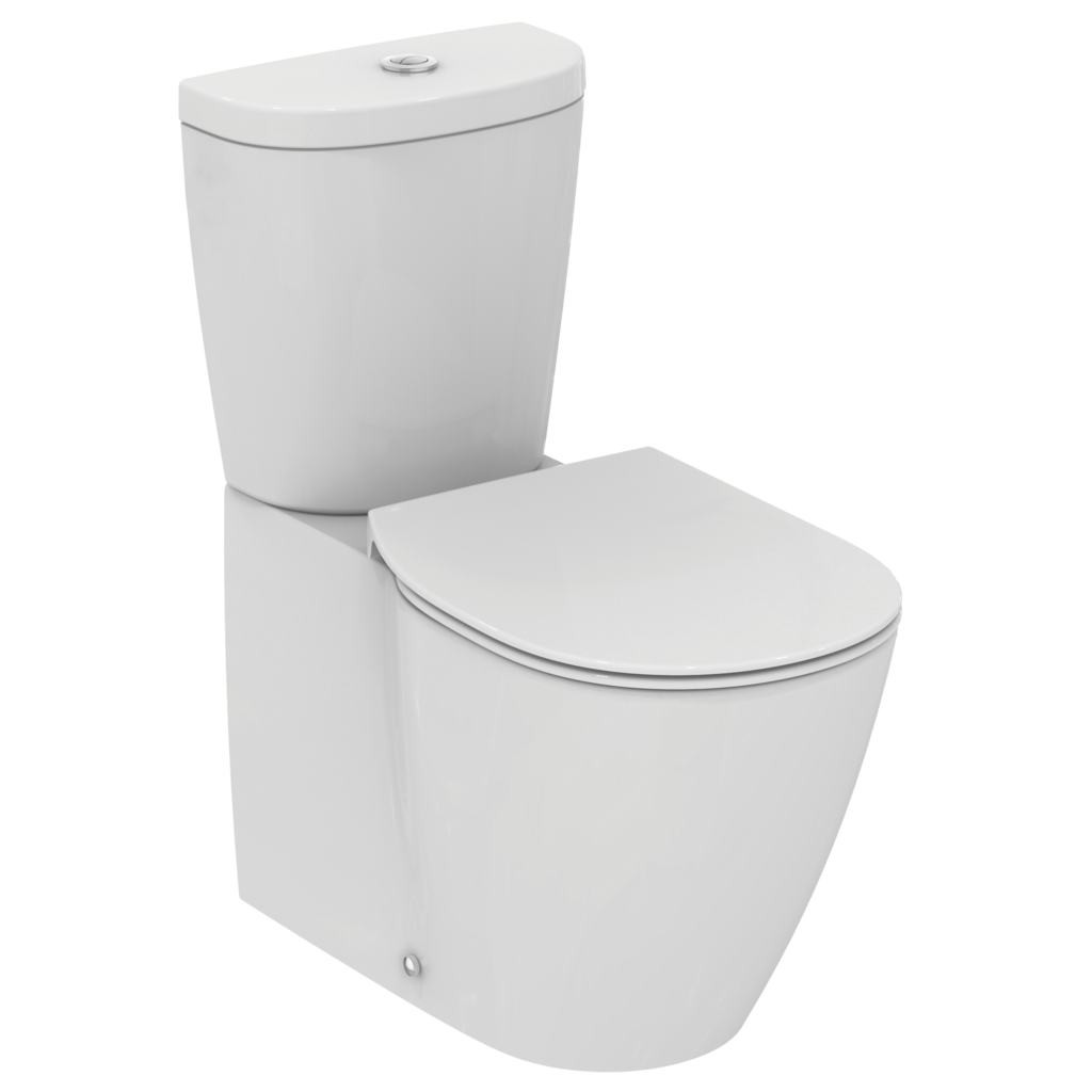 Promo Wc Vas Wc Ideal Standard Connect Back To Wall E803701 Promo