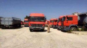الشاحنات السورية